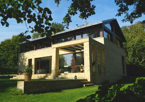 Landhaus moderne architektur  Neubau im denkmalgeschützen Umfeld, Moderne Architektur, Landhaus ...